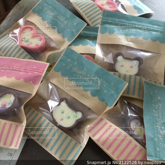 ラブリーなチョコレートの写真・画像素材[2122526]