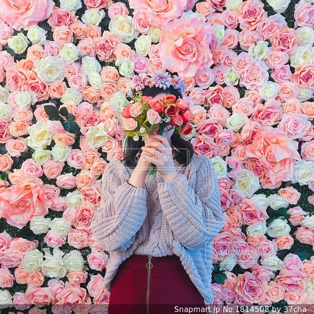flower girlの写真・画像素材[1814508]