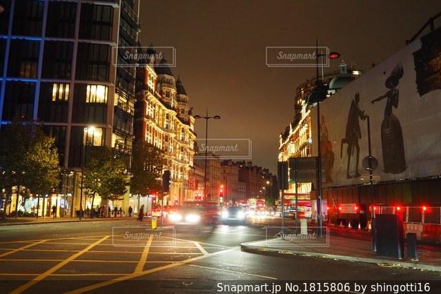 ロンドンの夜景の写真・画像素材[1815806]