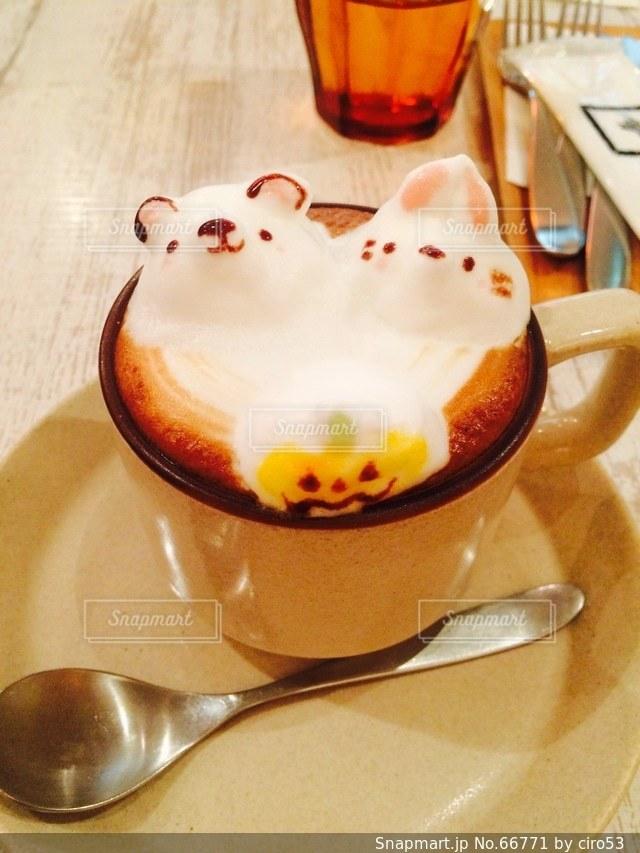 カフェの写真・画像素材[66771]