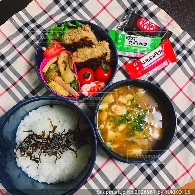 管理栄養士のお弁当の写真・画像素材[2026967]