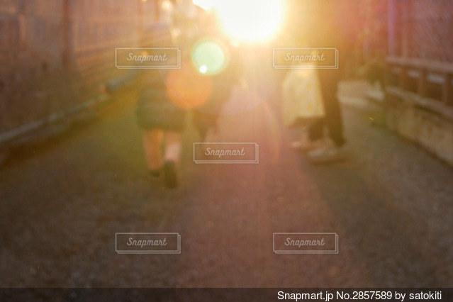 走るの写真・画像素材[2857589]