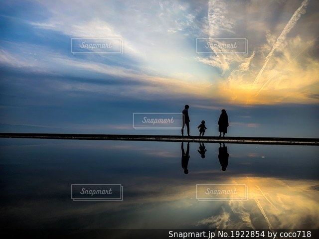 日本のウユニ塩湖✨の写真・画像素材[1922854]