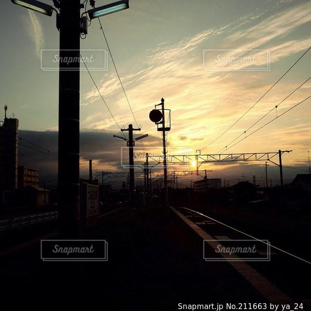 鉄道の写真・画像素材[211663]