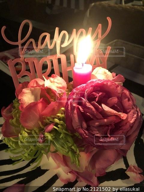 花のクローズアップの写真・画像素材[2121502]