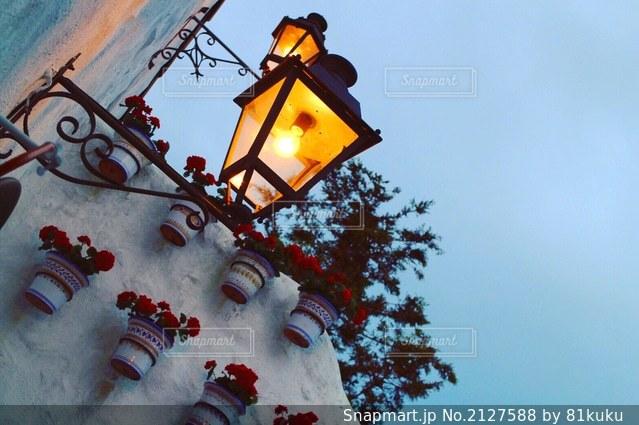 ランプのクローズアップの写真・画像素材[2127588]