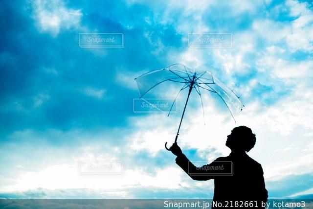 雨上がりの空に。の写真・画像素材[2182661]