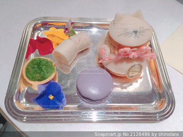 食品のプラスチック容器の写真・画像素材[2128486]