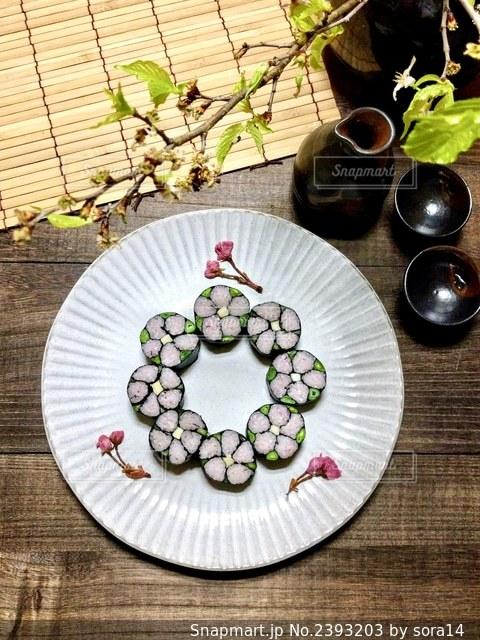 飾り寿司の写真・画像素材[2393203]