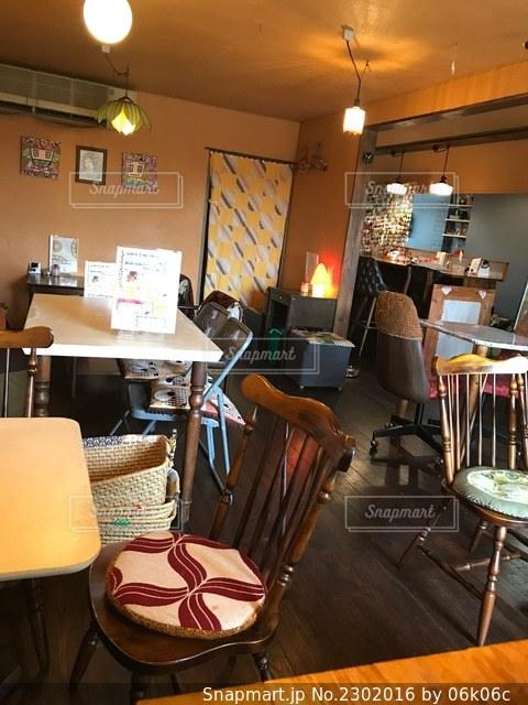 落ち着くカフェですの写真・画像素材[2302016]