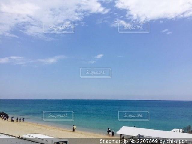沖縄 空と海の写真・画像素材[2207869]