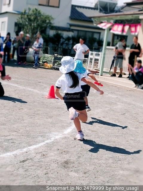 運動会の写真・画像素材[2479999]