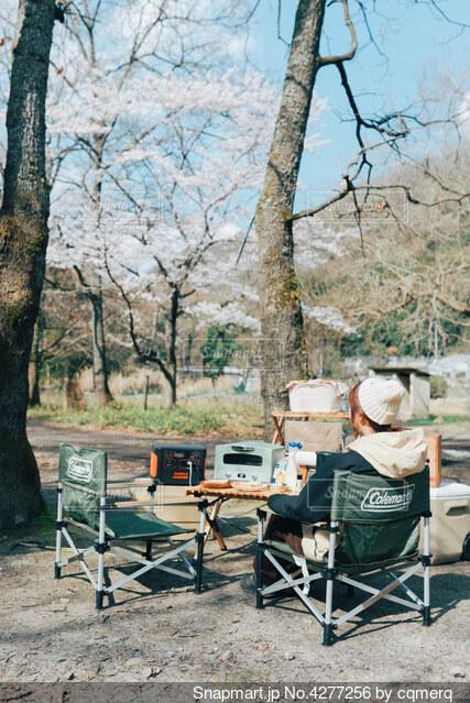 デイキャンプの写真・画像素材[4277256]
