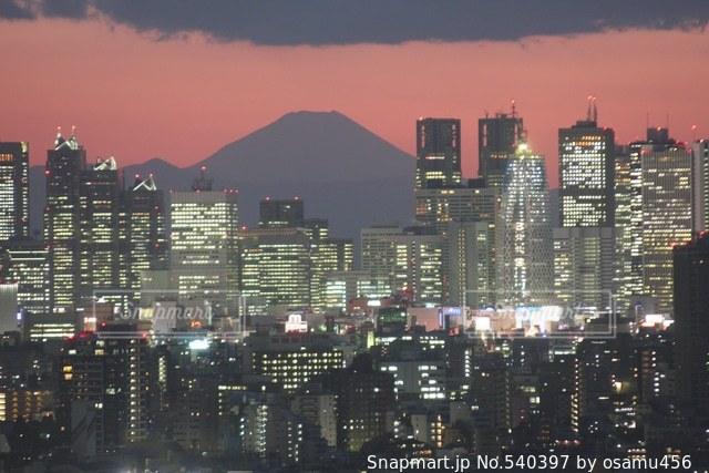 富士山の写真・画像素材[540397]