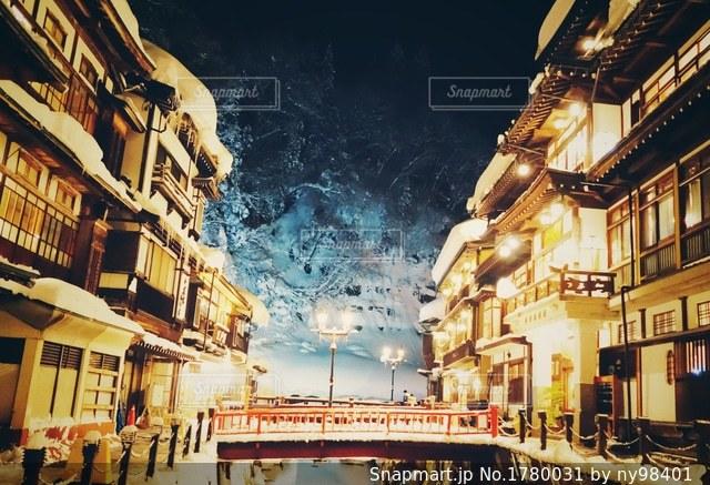 銀山温泉の写真・画像素材[1780031]
