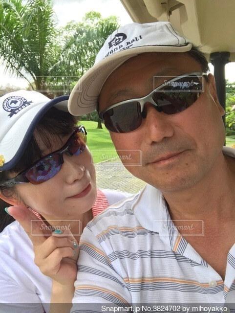 ツーサムゴルフの写真・画像素材[3824702]