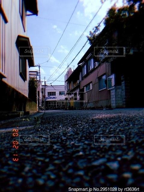 街の通りの眺めの写真・画像素材[2951028]