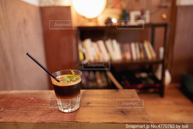 トニックコーヒーでちょっと大人な夕涼みの写真・画像素材[4770783]