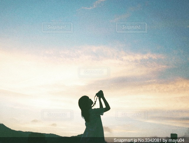 夕暮れの写真・画像素材[3342081]