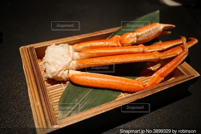 久しぶりの蟹の写真・画像素材[3899329]