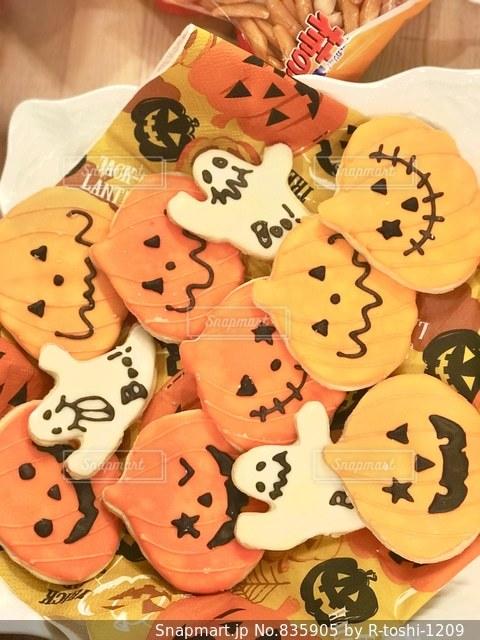 ハロウィンのお菓子の写真・画像素材[835905]