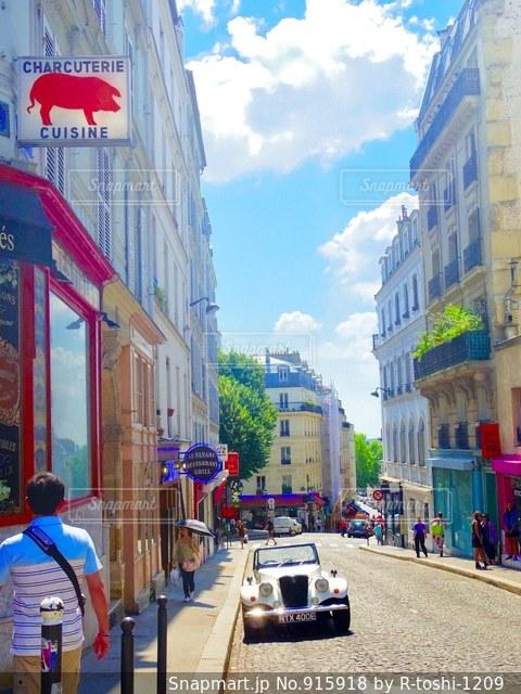 フランスの街並み - No.915918