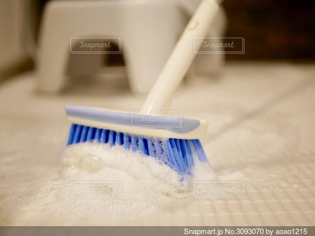 お風呂掃除の写真・画像素材[3093070]