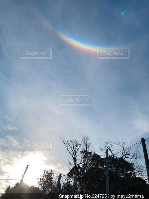 環天頂アークの写真・画像素材[3247951]