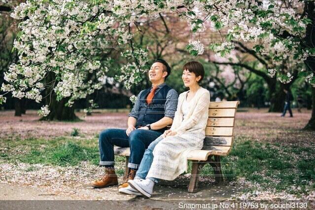 夫婦の写真・画像素材[4119763]