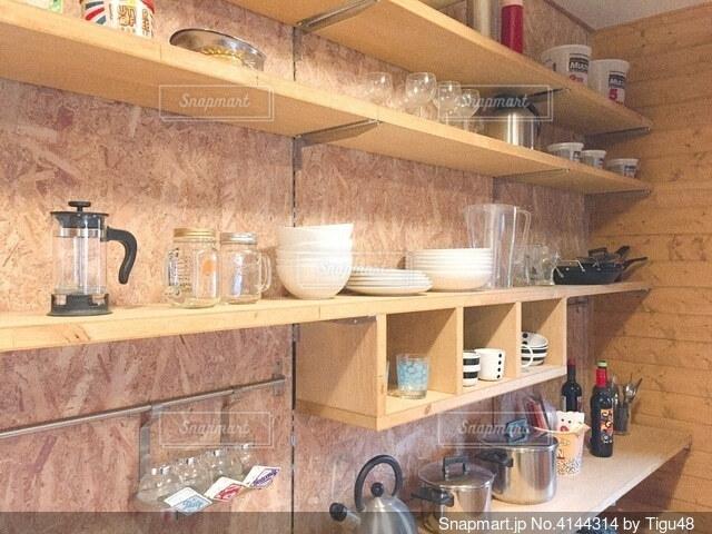 食器棚の写真・画像素材[4144314]