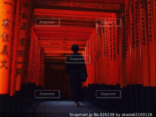 千本鳥居の写真・画像素材[926238]