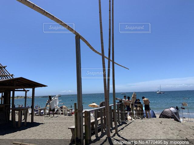 ビーチの写真・画像素材[4770495]
