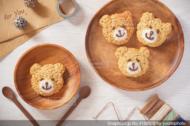 クマクッキーの写真・画像素材[4168518]