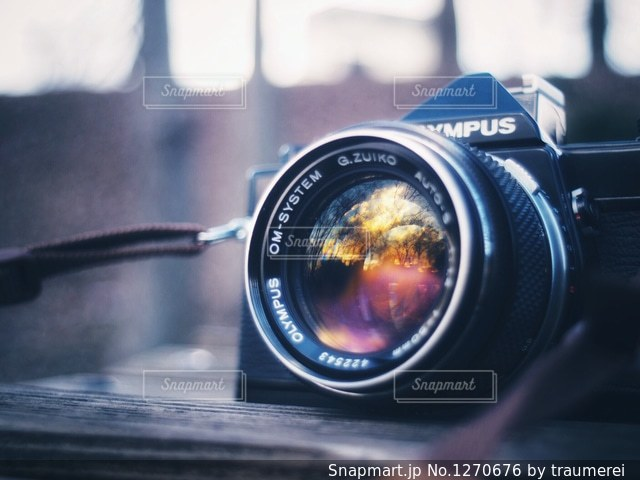 クローズ アップ カメラのの写真・画像素材[1270676]