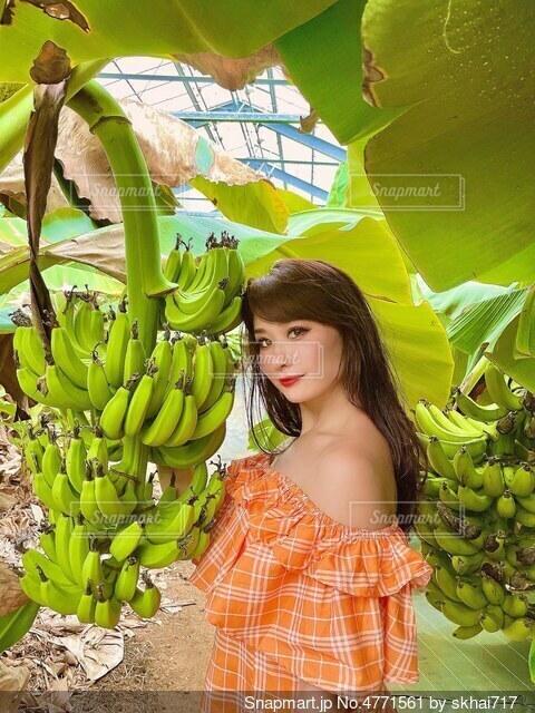 バナナの写真・画像素材[4771561]