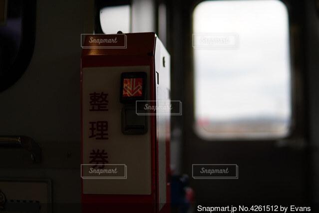 車内の風景の写真・画像素材[4261512]