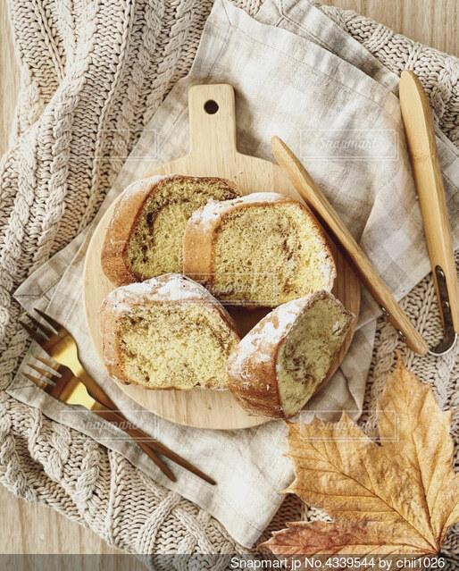 ホームメイドケーキの写真・画像素材[4339544]
