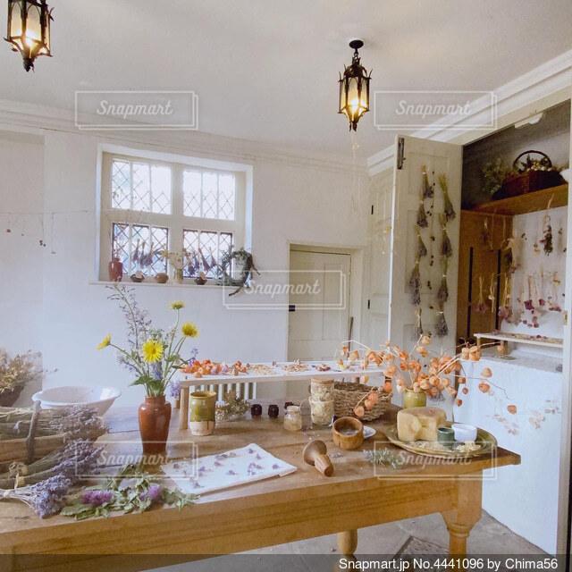 イギリスのカントリーハウスにての写真・画像素材[4441096]
