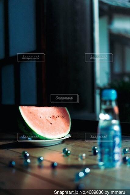 ラムネスイカの写真・画像素材[4689836]