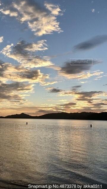 天橋立の日の出の写真・画像素材[4873378]