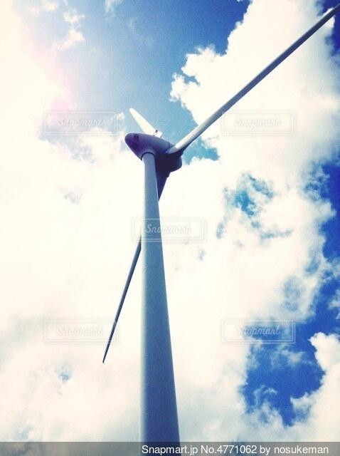 風力発電の写真・画像素材[4771062]