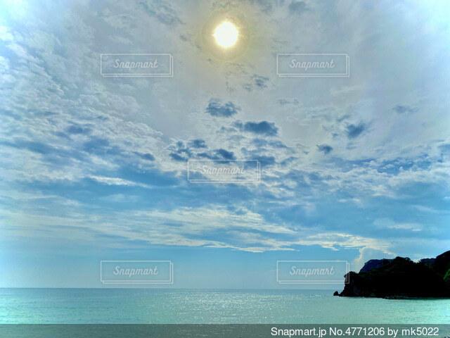 太陽ドーンの写真・画像素材[4771206]
