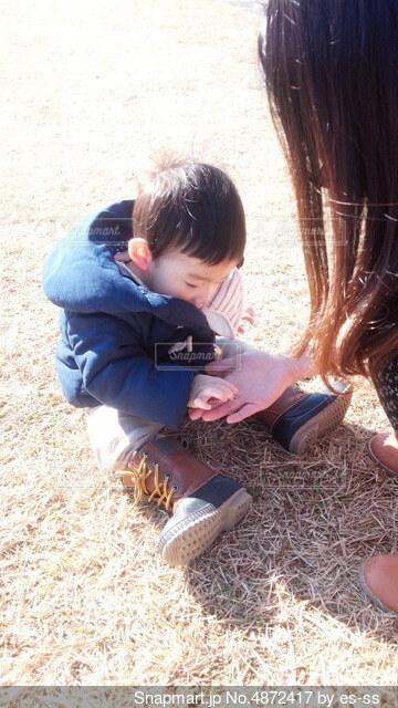 母と子供の写真・画像素材[4872417]