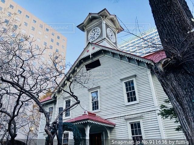 札幌市時計台の写真・画像素材[911636]