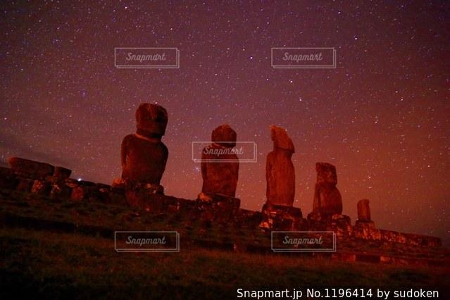 イースター島の写真・画像素材[1196414]