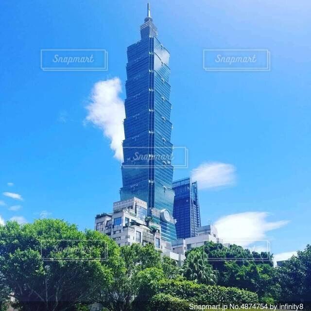 Taipeiの水色の写真・画像素材[4874754]