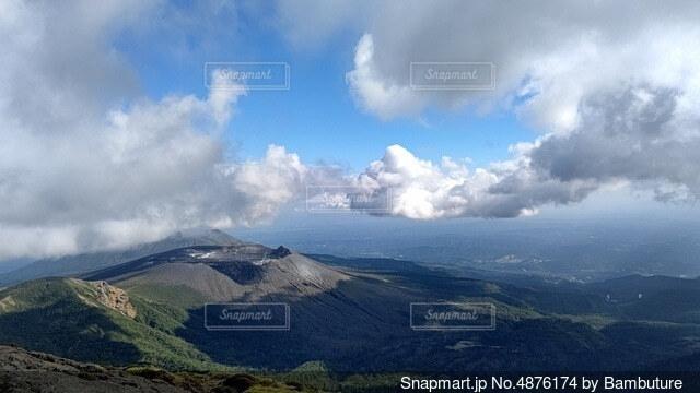 空の雲の群の写真・画像素材[4876174]