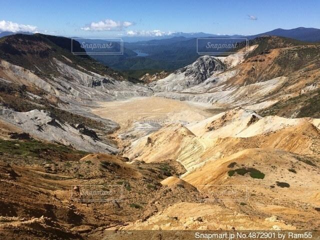 百名山 山の風景の写真・画像素材[4872901]