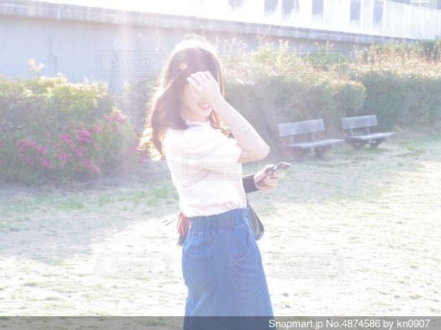 僕の天使の写真・画像素材[4874586]