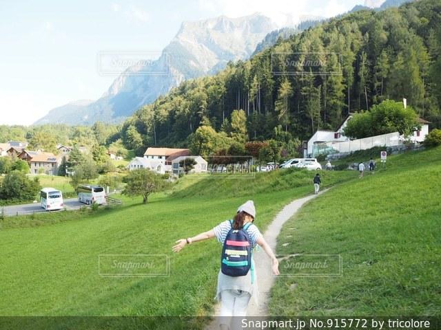 スイス マイエンフェルトにての写真・画像素材[915772]